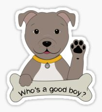 Good Boy - Pitbull Sticker