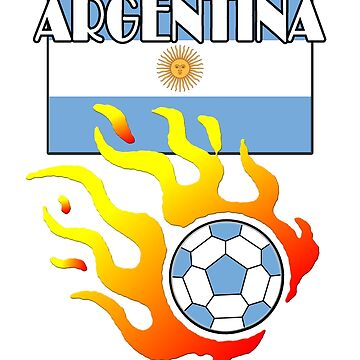 Argentina Football Soccer by mago