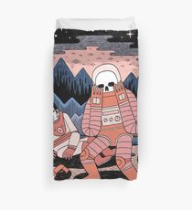 Death in Space  Duvet Cover