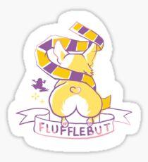 Flufflebut Sticker