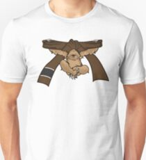 Sloth Jiu Jitsu Shirt BJJ Brown Belt Unisex T-Shirt