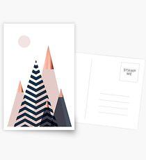 Skandinavische Berge Postkarten