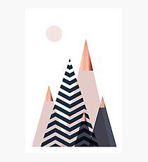 Scandinavian Mountains Photographic Print