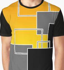 Layers Geometric Design Graphic T-Shirt