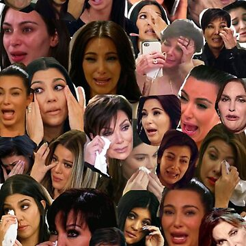 Collage llorando de Kardashian de rainyrainbow