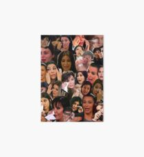 Kardashian's Crying Collage  Art Board