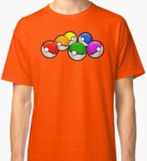 Pokeball Rainbow Classic T-Shirt
