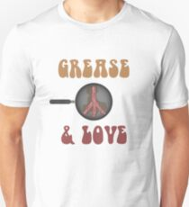 Grease and Love Unisex T-Shirt