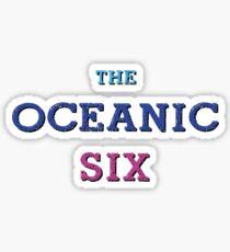 The Oceanic Six Sticker