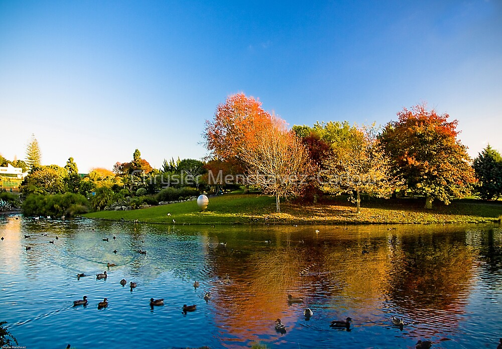 The Colours of Autumn by Chrysler Menchavez-Carlow