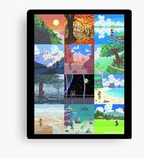 16-Bit Journey Canvas Print
