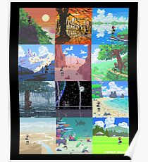 16-Bit Journey Poster