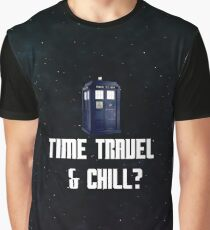 Time Travel & Chill (Galaxy Style) Graphic T-Shirt