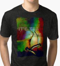 Tea time dreaming (T-Shirt) Tri-blend T-Shirt