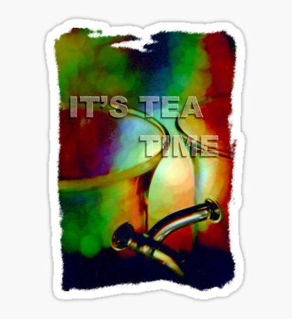 Tea time dreaming (T-Shirt) Sticker