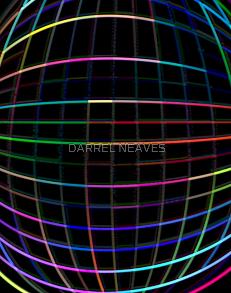 rainbow codes by DARREL NEAVES