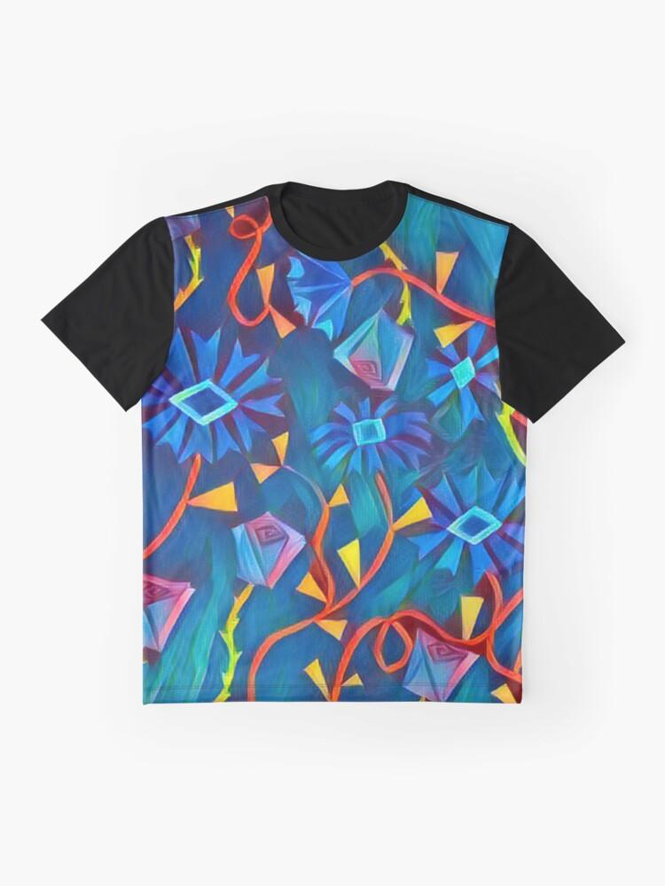 Alternative Ansicht von Aqua Garten Eden Grafik T-Shirt