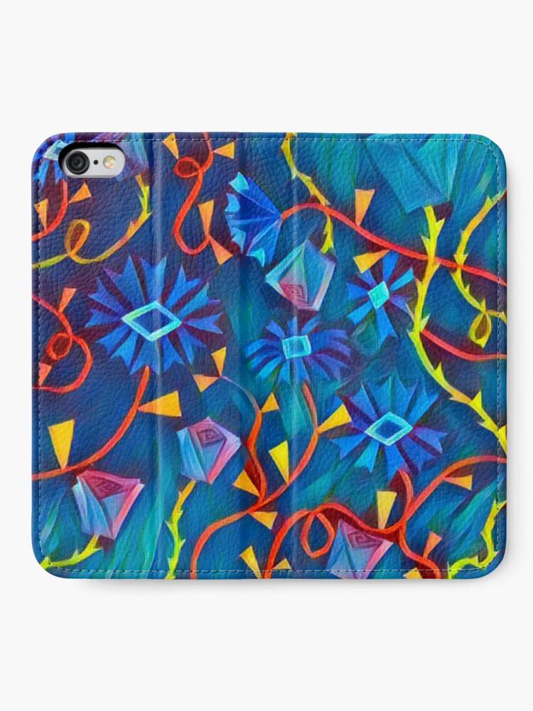 Alternative Ansicht von Aqua Garten Eden iPhone Flip-Case