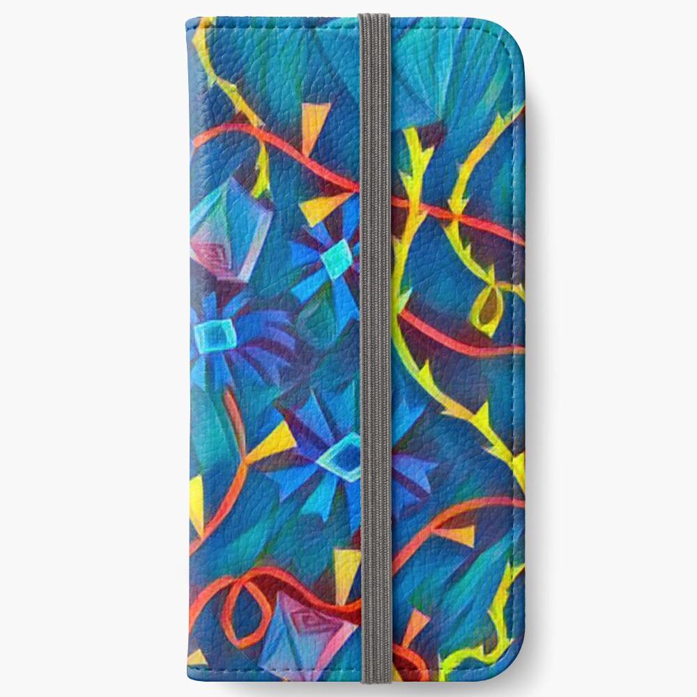 Aqua Garten Eden iPhone Flip-Case