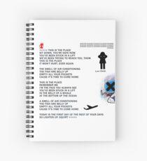 Radiohead Lyrics Spiral Notebooks Redbubble