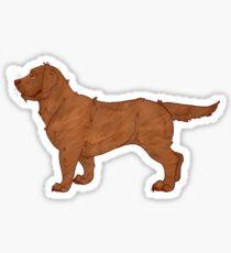 English Lab - Chocolate Sticker