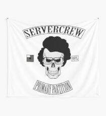 server crew Wall Tapestry