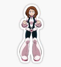 Gravity Girl Sticker