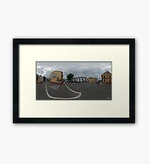 Carrick Crossroads, Donegal(Rectangular)  Framed Print