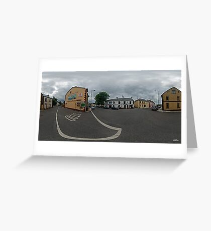 Carrick Crossroads, Donegal(Rectangular)  Greeting Card