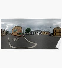 Carrick Crossroads, Donegal(Rectangular)  Poster