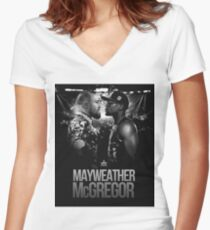 the notorious Women's Fitted V-Neck T-Shirt