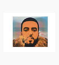 French Montana  Photographic Print