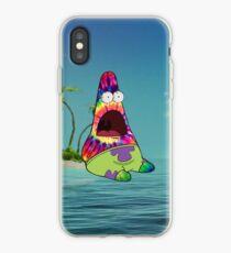Trippy Patrick iPhone Case