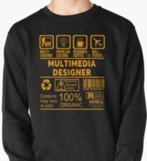 MULTIMEDIA DESIGNER - NICE DESIGN 2017 Pullover