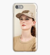 US Military Woman iPhone Case/Skin
