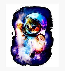 Cat Astronaut In Space Photographic Print
