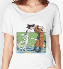 Manga Cover Freezer vs Goku Women's Relaxed Fit T-Shirt