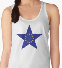 Europe EU star flag Women's Tank Top