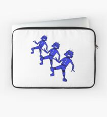 Dancing Robot Trio   Laptop Sleeve
