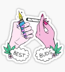BEST BUDS MERCHANDISE Sticker