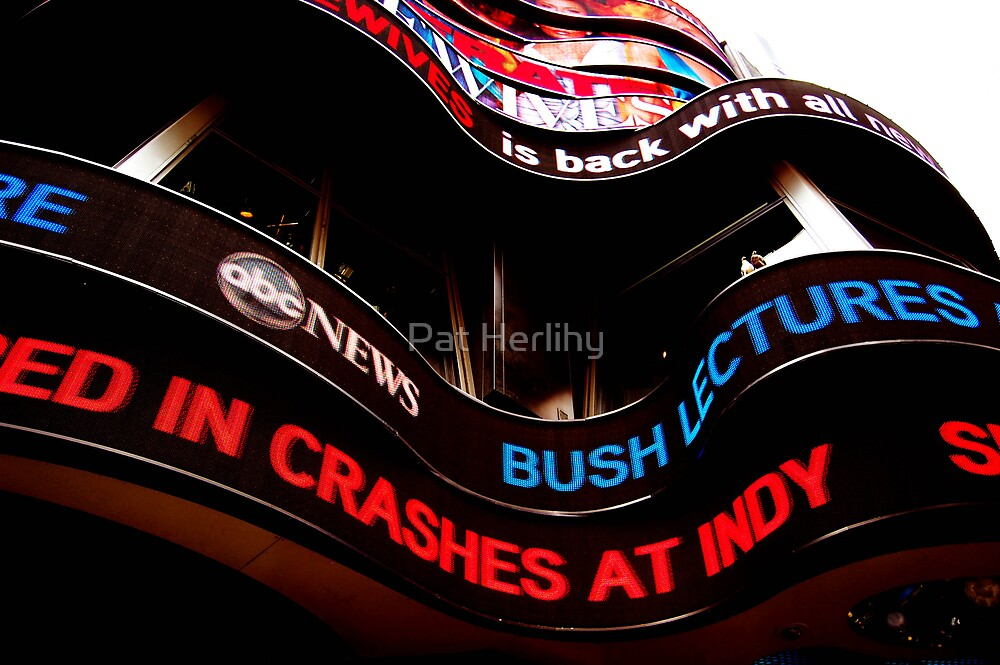 Times Square by Pat Herlihy