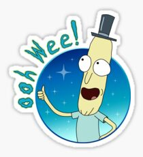 Mr. Poopy Butthole Sticker