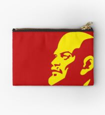 Lenin Communist Zipper Pouch