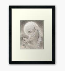 The Unicorn Framed Print