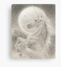 The Unicorn Canvas Print
