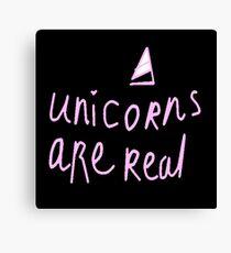 Unicorns are Real Canvas Print