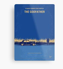 No686-1- Godfather I minimal movie poster Metal Print
