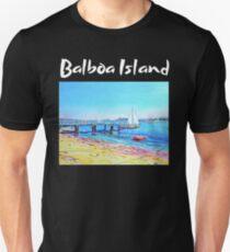 BALBOA ISLAND NEWPORT BEACH  T-Shirt