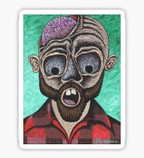 Zombie Lumberjack Sticker
