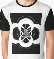 "Hellfire Caves abstract ""Moonphase"" - Hellfire Club Graphic T-Shirt"